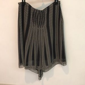 Max Studio special edition 100% silk skirt